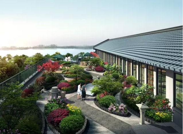 新中式视角下的农业示范园景观设计——以东台市仙湖现代农业示范园为图片